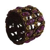 Purple River Pearl Bangal Bracelet