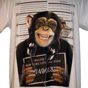 NY Most Wanted Chimp T-Shirt