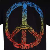 Weapon Peace Sign Shirt