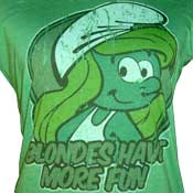 Smurfette-Blonds Have More Fun Shirt