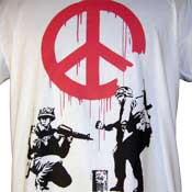 Soldiers For Peace Shirt