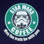 Star Wars Coffee Funny Clone T-Shirt